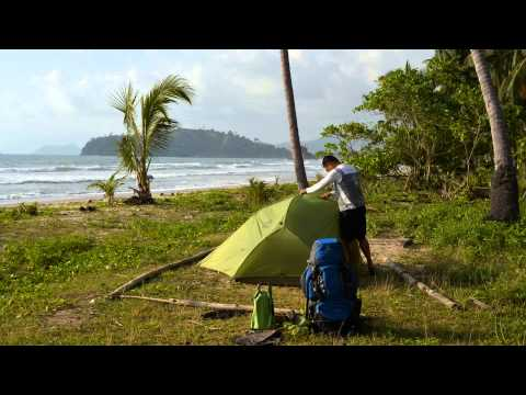 Timelapse: Tent Setup Long Beach Roxas Palawan