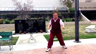 Evergreen Taichi Exercise Yang style Form 40 last section
