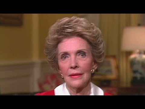 CNN: 1986: Nancy Reagan's 'Just say no' campaign