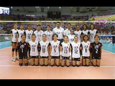 วอลเลย์บอลคัดเลือกโอลิมปิก 2016 ที่ประเทศญี่ปุ่น 14-22 พค 59 วอลเลย์บอลหญิงไทย