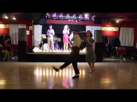 Marina & Sasha Balboa Improvisation At Labalera Vintage