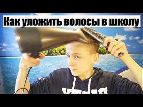 Мужские причёски/ Укладка стрижки + средства для укладки волос.