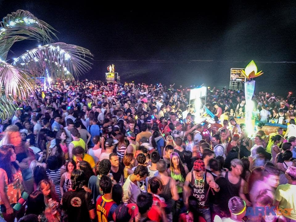 Arkbar Beach Resort Koh Samui Thailand Beach Party