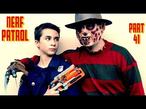 Nerf Patrol Battles Freddy - Part 41!