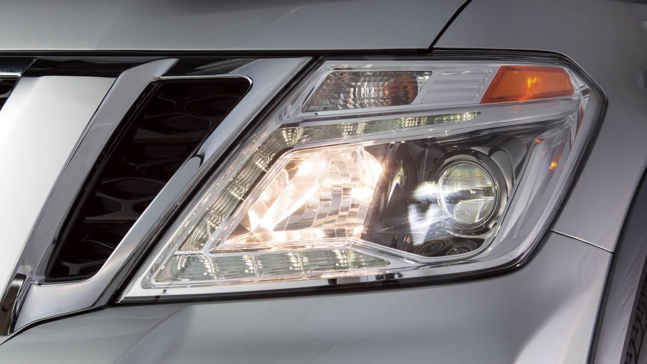2017 Nissan Armada Headlights And Exterior Lights Youtube