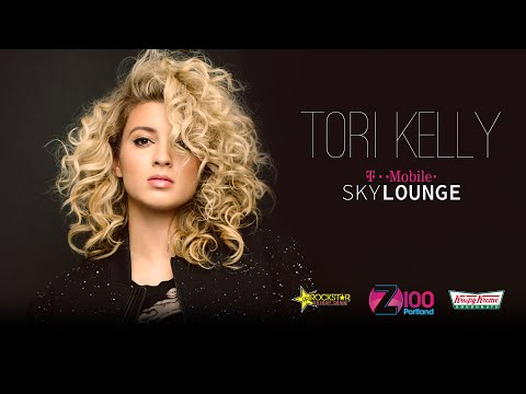 Tori Kelly in the T-Mobile Sky Lounge