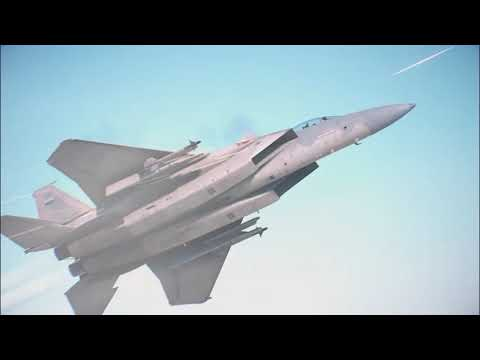 Ace Combat 7 Skies Unknown First Playthrough (Hard) Mission 01: Charge Assault