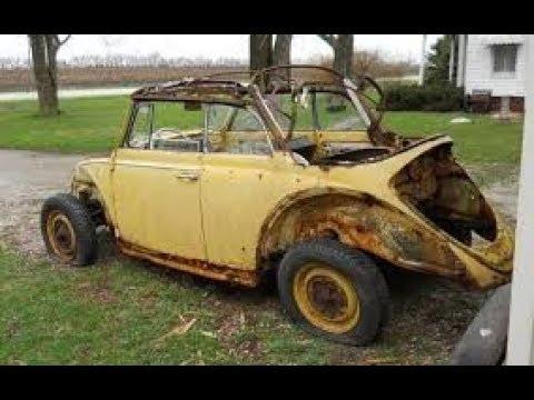 rusty vw bug frame rebuilding pt 3