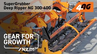 NG 300-400 SUPERGRUBBER DEEP RIPPER Working in New Zealand