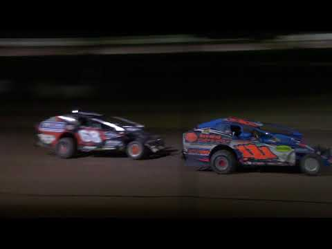Ransomville Speedway Sportsman Feature Highlights 8-31-18