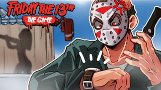 Friday the 13th - THIS GAME IS SO BROKEN!!! (Jason is annoyed)