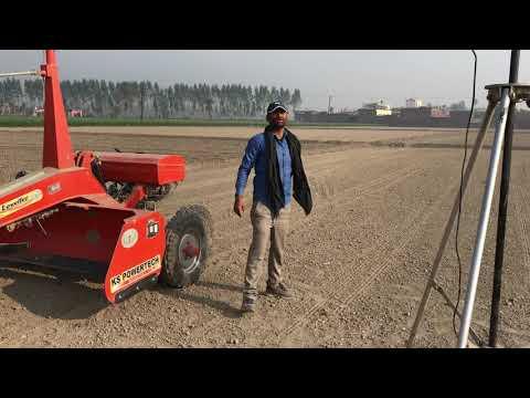 Laser Land Leveller By Ksa Agrotech Tractor Swaraj 855