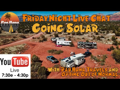 Q&A on Going Solar (Take 2) - Friday Night Live Chat