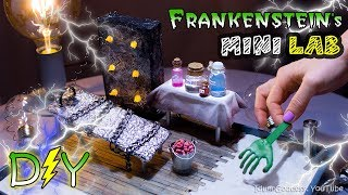 How To Make A Miniature Frankenstein