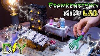 How To Make A Miniature Frankenstein's Laboratory Zen Garden – DIY Stress-Relieving Desk Decoration