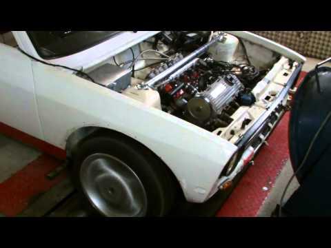Audi 50 mit Einzeldrosselklappen