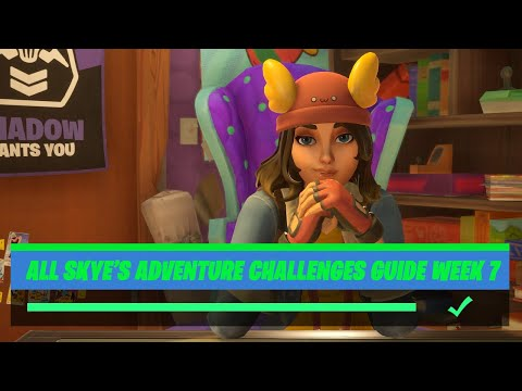 Fortnite All 'Skye's Adventure' (Week 7) Challenges Guide - Chapter 2 Season 2