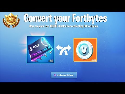 How To Convert Fortbytes into FREE VBUCKS in Fortnite! (New Fortbyte Event + Fortbyte Challenges)