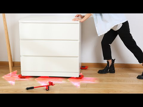 How To Moving Heavy Furniture By Yourself ?| Moving Furniture Hacks