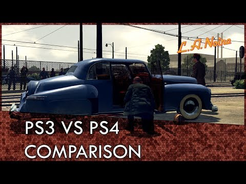 LA Noire PS3 VS PS4 Graphics Comparison