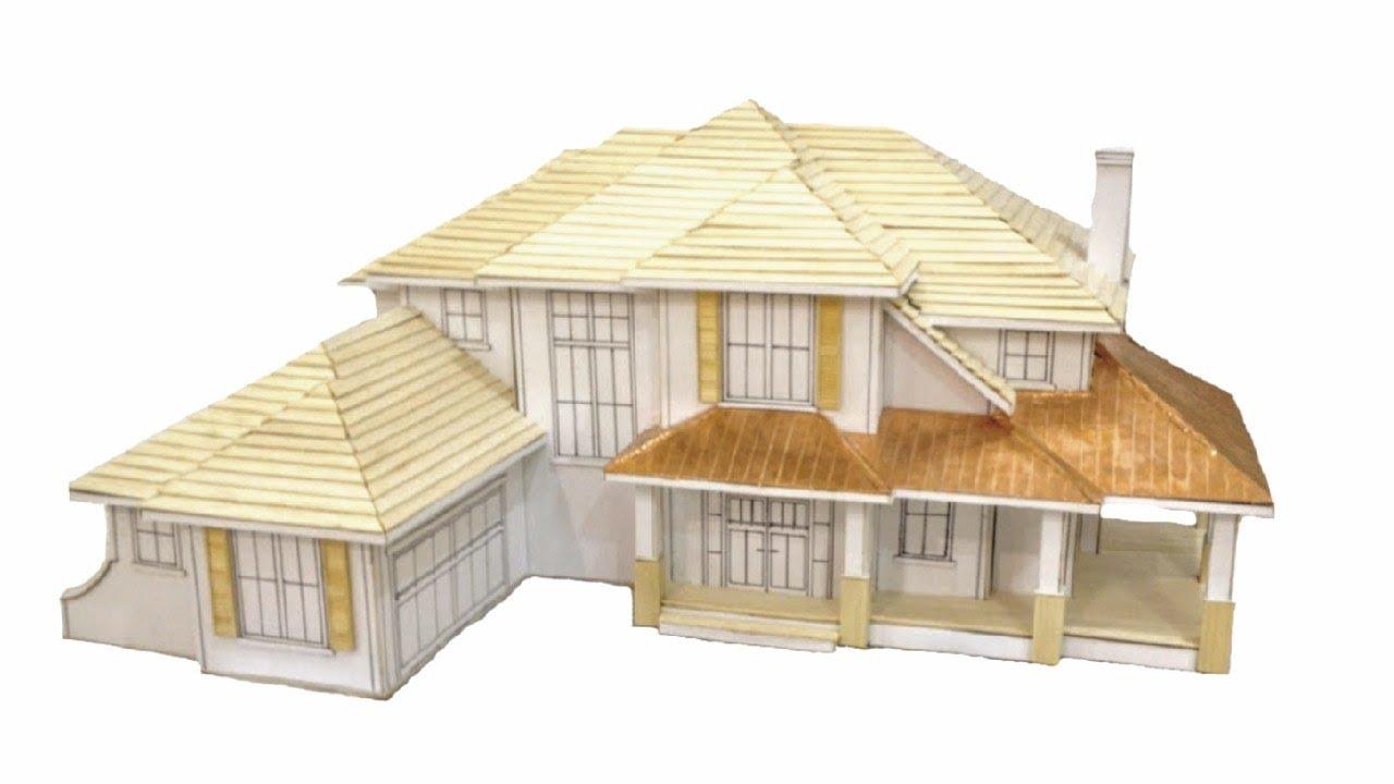 Scale House Model! | Veranda Design | Jack Strait