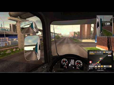 ETS2 - Scandinavia DLC review with Mandelsoft