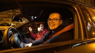 Прокатил Подписчика На 720-Сильной Audi Rs6! Реакция На Разгон!