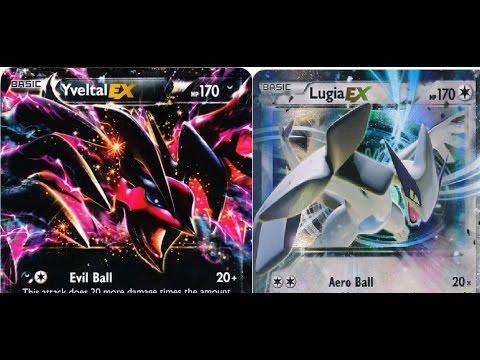 Pokemon World Yveltal EX Lugia Standard Deck Profile 2015 By Kung Fu