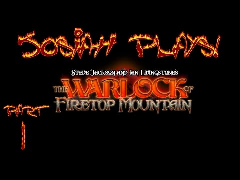 The Warlock of Firetop Mountain - Josiah Plays! - Part 1 [Blind] [Twitch Stream]