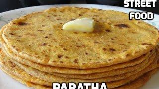 Индия. Приготовление индийской лепешки Парота   India. Indian bread Parota