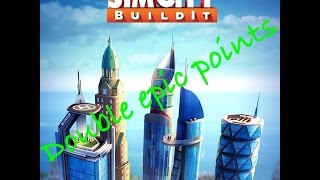 SimCity BuildIt My faster epic project completed in 2 hours