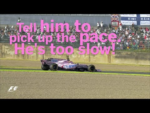 2017 Japanese Grand Prix: Best of Team Radio