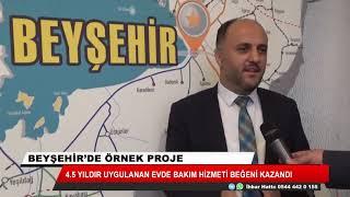 Beyşehir Belediyesi evde bakım hizmetleriyle yerel yönetimlere örnek oldu