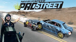 Заруба с 1000+ сильной обдолбаной Pagani Zonda F на хайвее в Неваде Need for Speed: ProStreet
