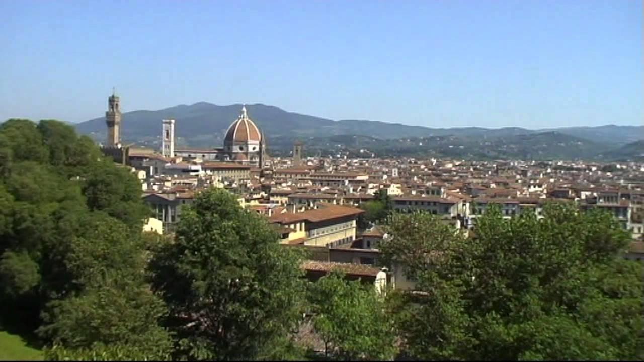 Firenze - Il Parco Bardini, una terrazza verde sulla città. - YouTube