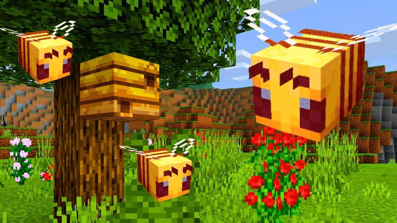 Resultado de imagen para minecraft pe abejas