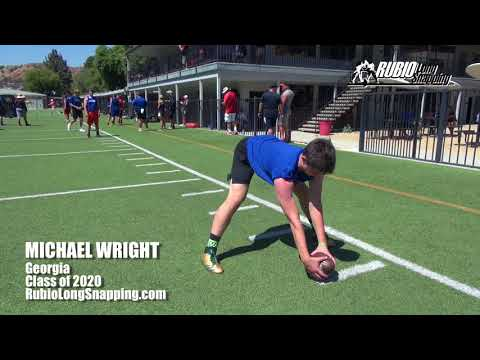 Michael Wright - Long Snapper