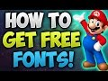 How To Install New Fonts To Your Computer!