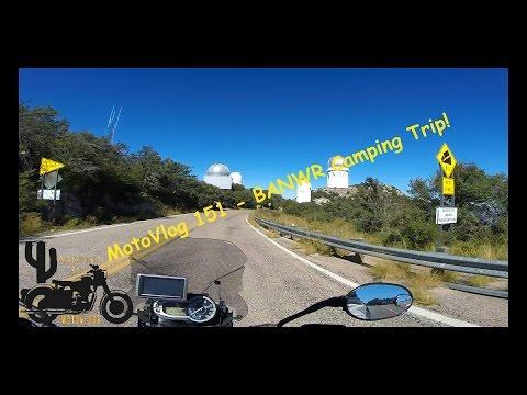 MotoVlog 151 - Buenos Aires Refuge Camping Trip Episode 1 - Triumph Tiger 800