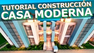 TUTORIAL - CASA MODERNA 28x12 - MINECRAFT