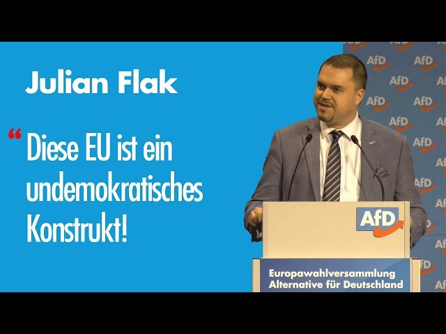 Julian Flak | EU-Wahl '19 – Listenplatz 22