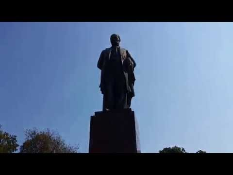 Taras Shevchenko Park. Kiev. Ukraine. 2015-09-02