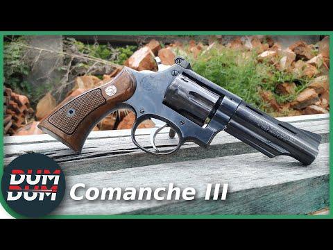 Llama Comanche III .357 mag, opis revolvera