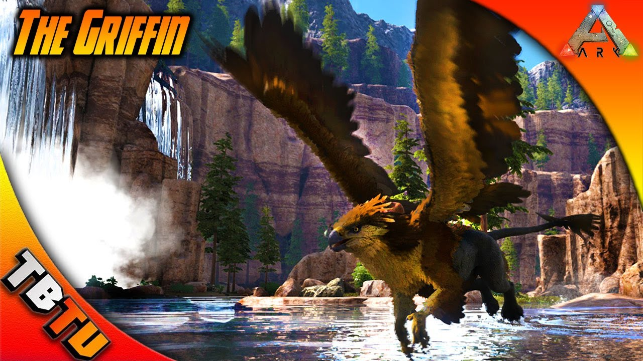 ARK GRIFFIN TAMING! HOW TO TAME AND WHERE TO FIND! NEW OFFICIAL ARK  RAGNAROK DLC! RAGNAROK MAP
