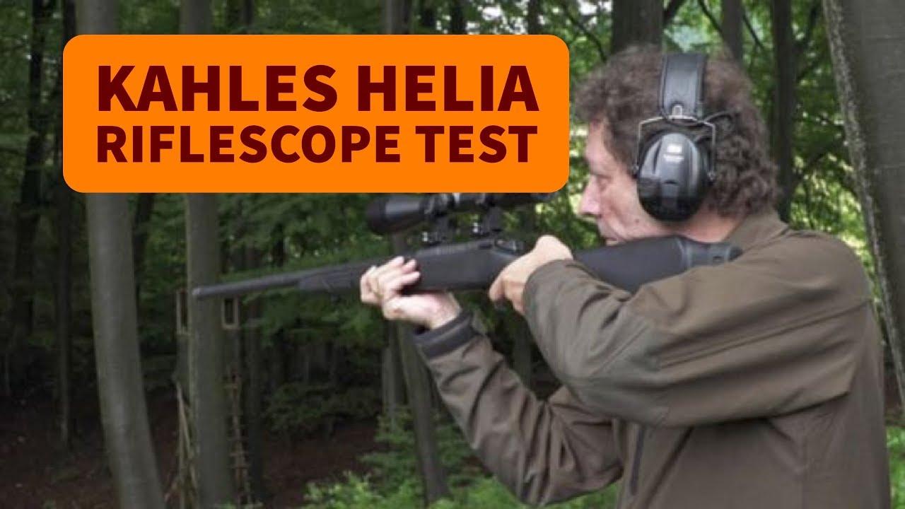 Kahles helia riflescope test youtube