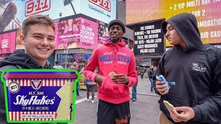 NYC Strangers Try SkyFlakes for the First Time, Fall in Love?!
