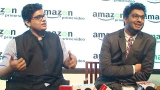 Funny Video - Tanmay Bhat And Khamba Trolling Media Reporters At Amazon Prime Video Launch