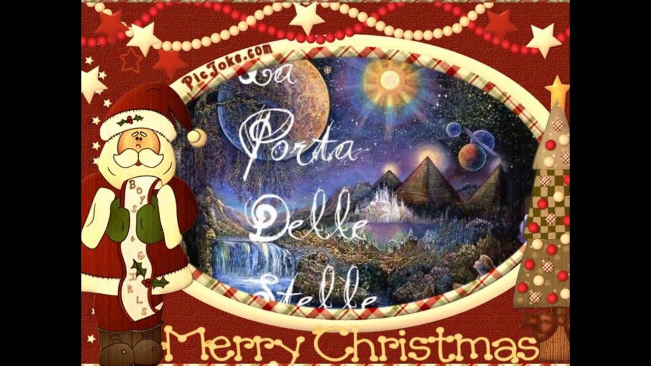 Feliz Navidad Michael Buble Di La Porta Delle Stelle Youtube