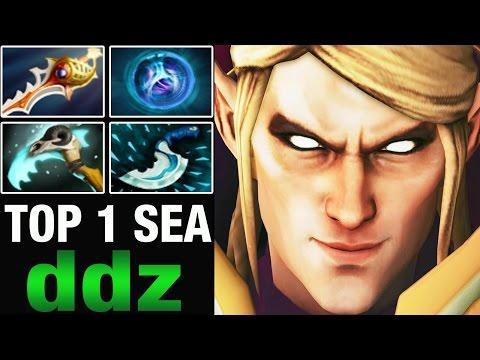 TOP 1 MMR SEA ddz 8500 MMR Plays Invoker  - Dota 2