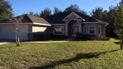 Ormond Lakes move in ready home 3 bed 2 bath with 2 car Garage, high ceilings & block construction